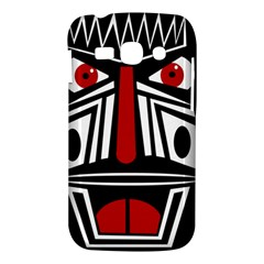 African red mask Samsung Galaxy Ace 3 S7272 Hardshell Case