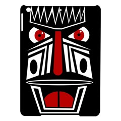 African red mask iPad Air Hardshell Cases