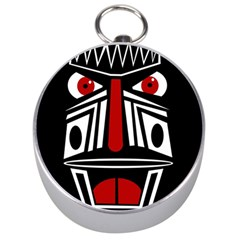 African red mask Silver Compasses