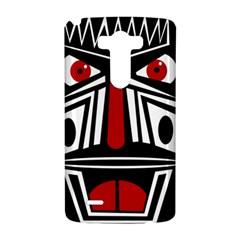 African red mask LG G3 Hardshell Case