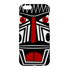 African red mask Apple iPhone 6 Plus/6S Plus Hardshell Case