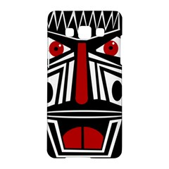 African red mask Samsung Galaxy A5 Hardshell Case