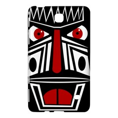 African red mask Samsung Galaxy Tab 4 (8 ) Hardshell Case