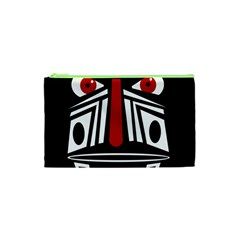 African red mask Cosmetic Bag (XS)