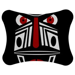 African red mask Jigsaw Puzzle Photo Stand (Bow)