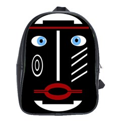 Decorative mask School Bags(Large)