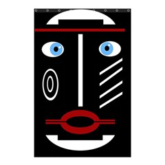 Decorative mask Shower Curtain 48  x 72  (Small)
