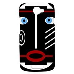 Decorative mask HTC One S Hardshell Case