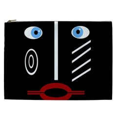 Decorative mask Cosmetic Bag (XXL)