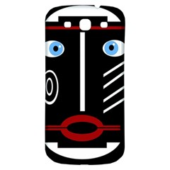 Decorative mask Samsung Galaxy S3 S III Classic Hardshell Back Case