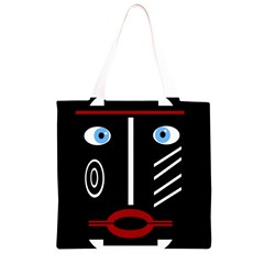 Decorative mask Grocery Light Tote Bag