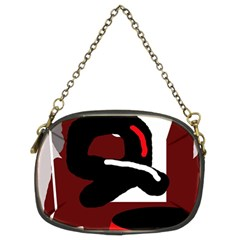 Crazy abstraction Chain Purses (Two Sides)