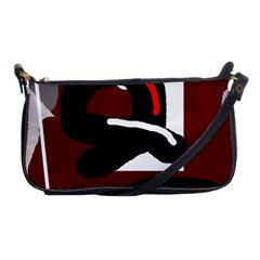 Crazy abstraction Shoulder Clutch Bags