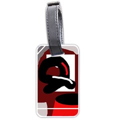 Crazy abstraction Luggage Tags (One Side)