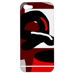 Crazy abstraction Apple iPhone 5 Hardshell Case