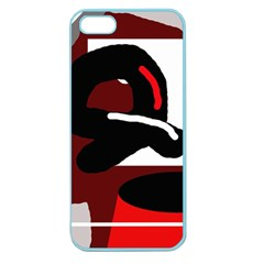 Crazy abstraction Apple Seamless iPhone 5 Case (Color)