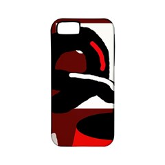 Crazy abstraction Apple iPhone 5 Classic Hardshell Case (PC+Silicone)