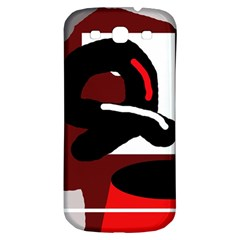 Crazy abstraction Samsung Galaxy S3 S III Classic Hardshell Back Case