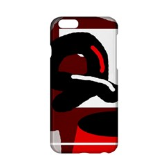 Crazy abstraction Apple iPhone 6/6S Hardshell Case