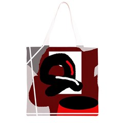 Crazy abstraction Grocery Light Tote Bag