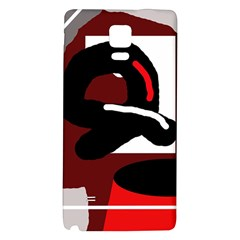 Crazy abstraction Galaxy Note 4 Back Case