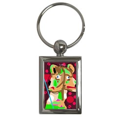 Abstract animal Key Chains (Rectangle)