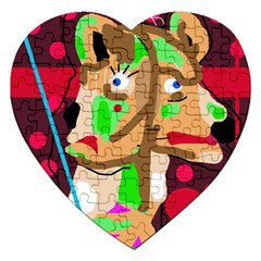 Abstract animal Jigsaw Puzzle (Heart)