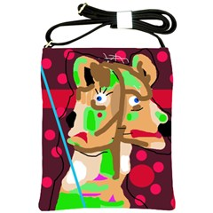 Abstract animal Shoulder Sling Bags