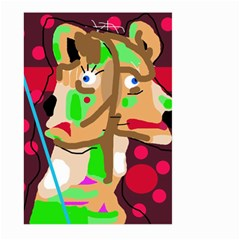 Abstract animal Large Garden Flag (Two Sides)
