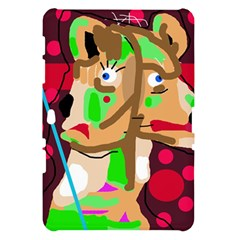 Abstract animal Samsung Galaxy Tab 10.1  P7500 Hardshell Case