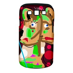 Abstract animal Samsung Galaxy S III Classic Hardshell Case (PC+Silicone)