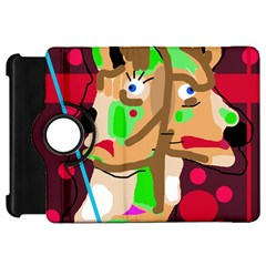 Abstract animal Kindle Fire HD Flip 360 Case