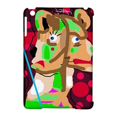 Abstract animal Apple iPad Mini Hardshell Case (Compatible with Smart Cover)
