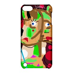 Abstract animal Apple iPod Touch 5 Hardshell Case with Stand