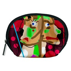 Abstract animal Accessory Pouches (Medium)