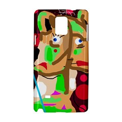 Abstract animal Samsung Galaxy Note 4 Hardshell Case