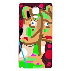 Abstract animal Galaxy Note 4 Back Case