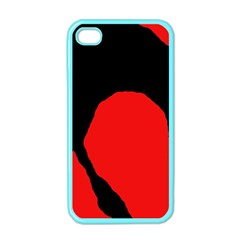 Black raven Apple iPhone 4 Case (Color)