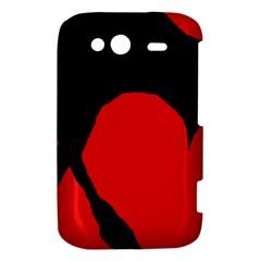 Black raven HTC Wildfire S A510e Hardshell Case