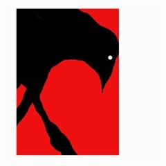 Black raven Large Garden Flag (Two Sides)