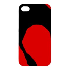 Black raven Apple iPhone 4/4S Premium Hardshell Case