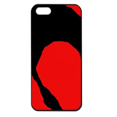 Black raven Apple iPhone 5 Seamless Case (Black)