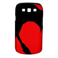 Black raven Samsung Galaxy S III Classic Hardshell Case (PC+Silicone)