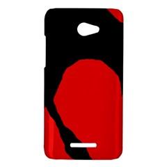 Black raven HTC Butterfly X920E Hardshell Case