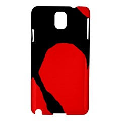 Black raven Samsung Galaxy Note 3 N9005 Hardshell Case