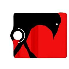 Black raven Kindle Fire HDX 8.9  Flip 360 Case