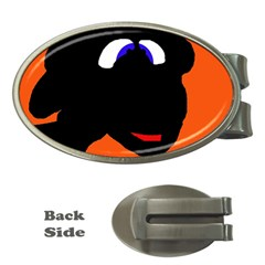 Black sheep Money Clips (Oval)