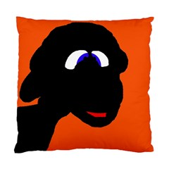 Black sheep Standard Cushion Case (Two Sides)