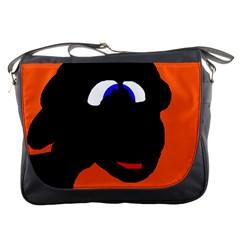 Black sheep Messenger Bags