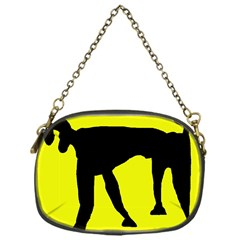 Black dog Chain Purses (One Side)